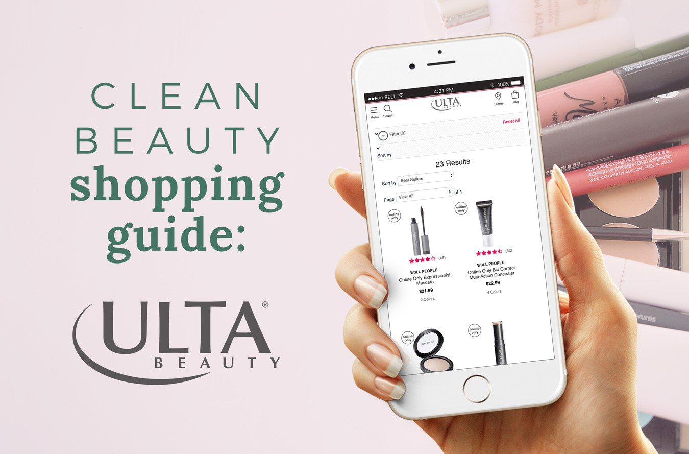 ULTA Shopping Guide: 20+ Clean Beauty Brands [Free Printable Download]
