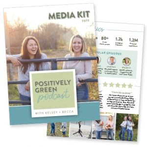 Positively Green Podcast Media Kit