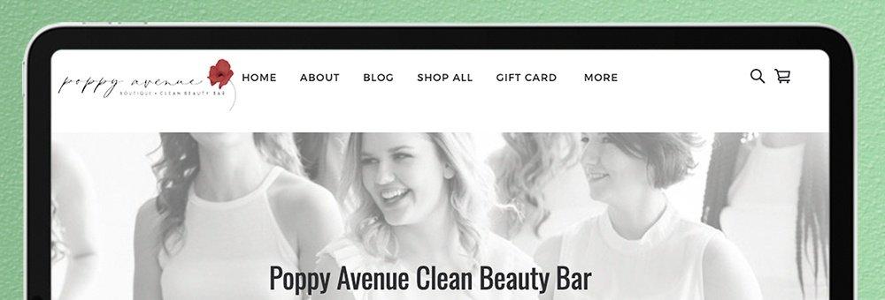 Poppy Avenue Clean Beauty Bar