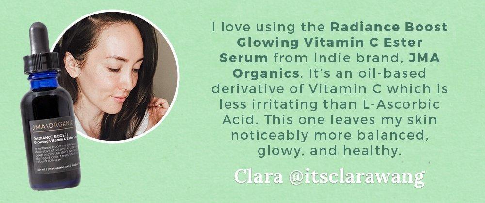 Clara Wang JMA Organics Vitamin C