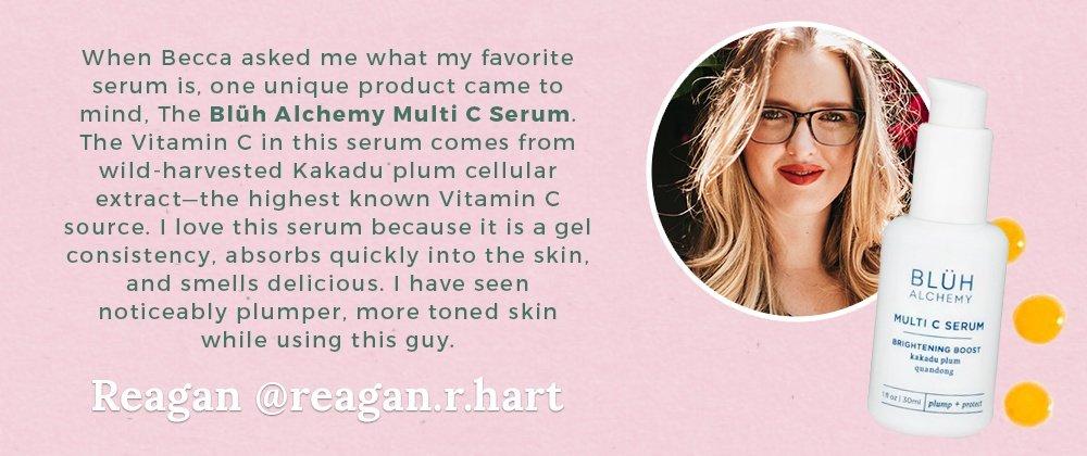 Reagan Hart Bluh Alchemy Vitamin C