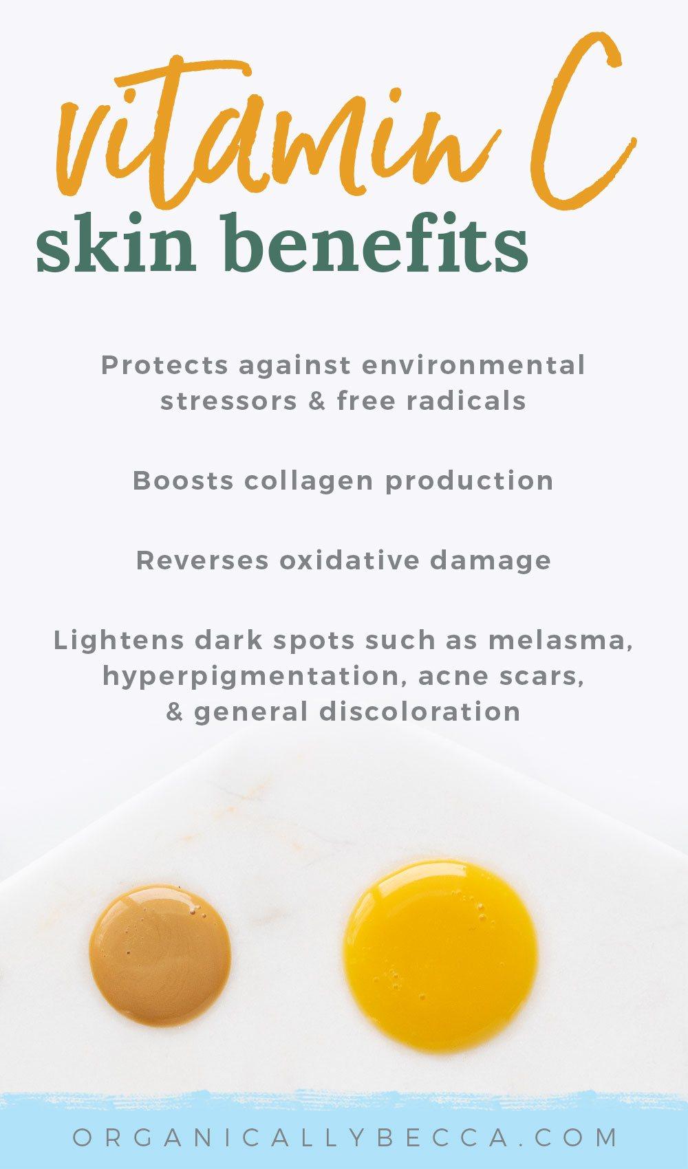 Skincare Benefits of Vitamin C