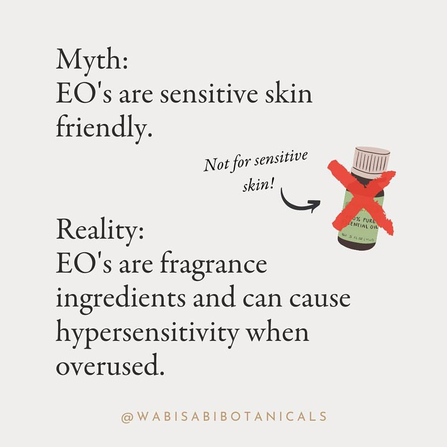 Essential Oils Sensitive Skin Myth