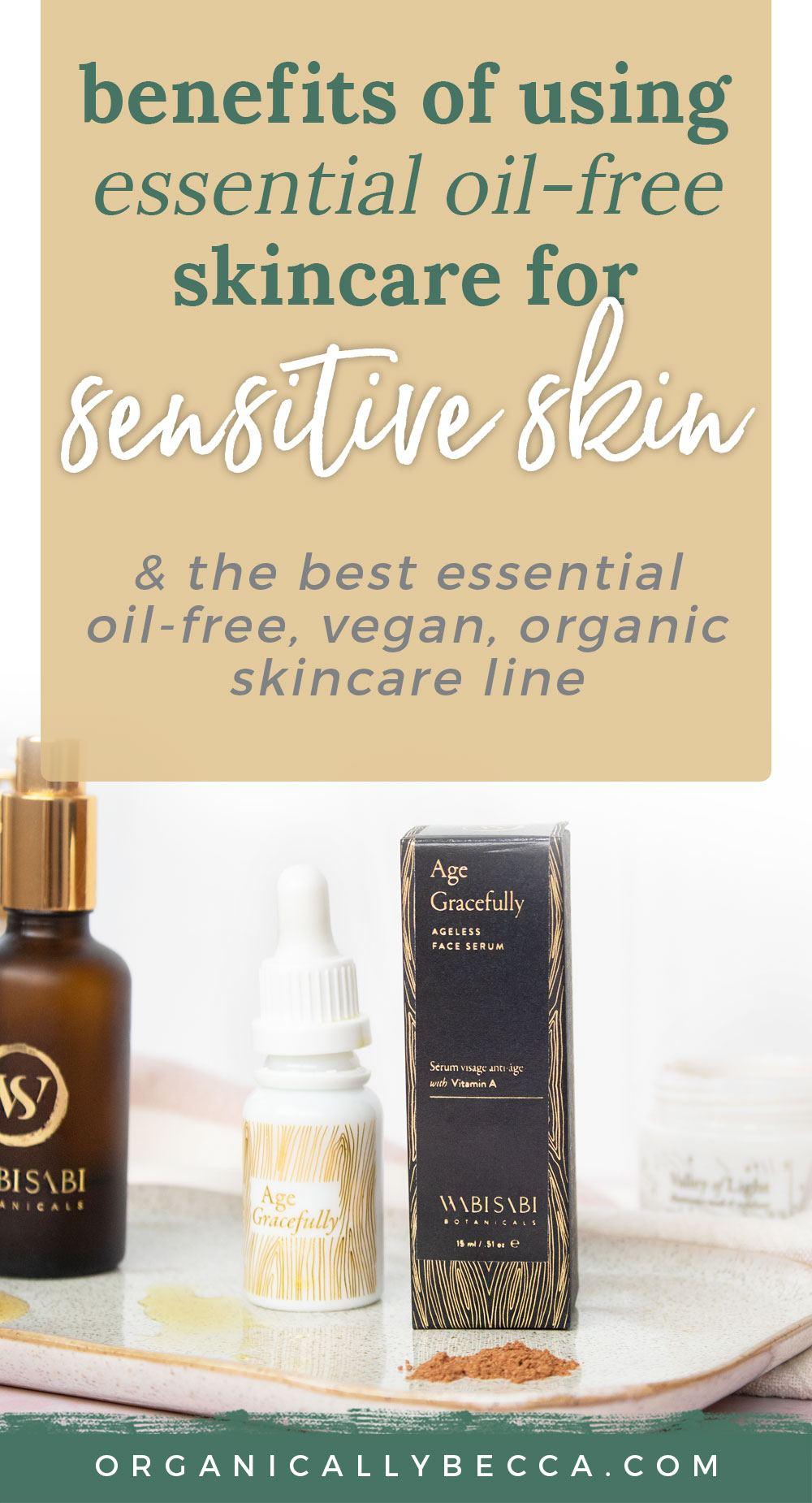 Pin me on Pinterest! | Wabi-Sabi Botanicals Essential Oil-Free Skincare