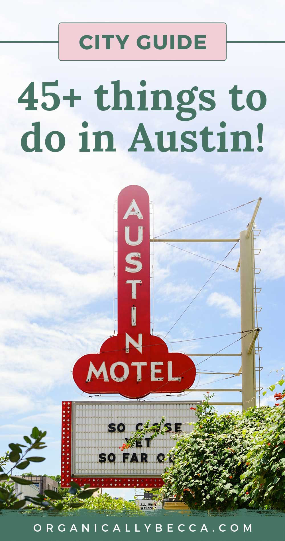 Austin City Guide | Pin me on Pinterest!