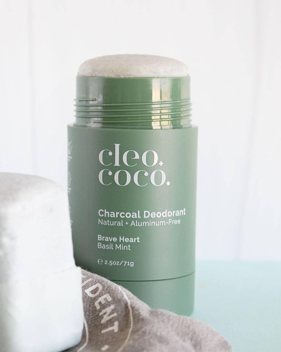 Cleo + Coco Natural Deodorant Stick