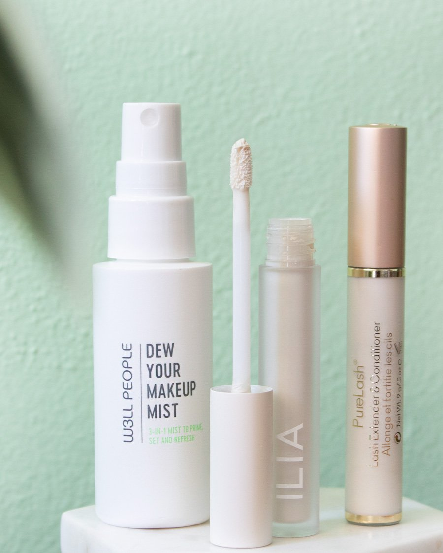 Clean beauty primers and setting spray