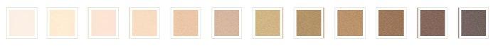 Clove + Hallow Liquid Skin Tint Swatches