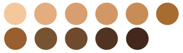 Crunchi Beautifully Flawless Foundation Swatches