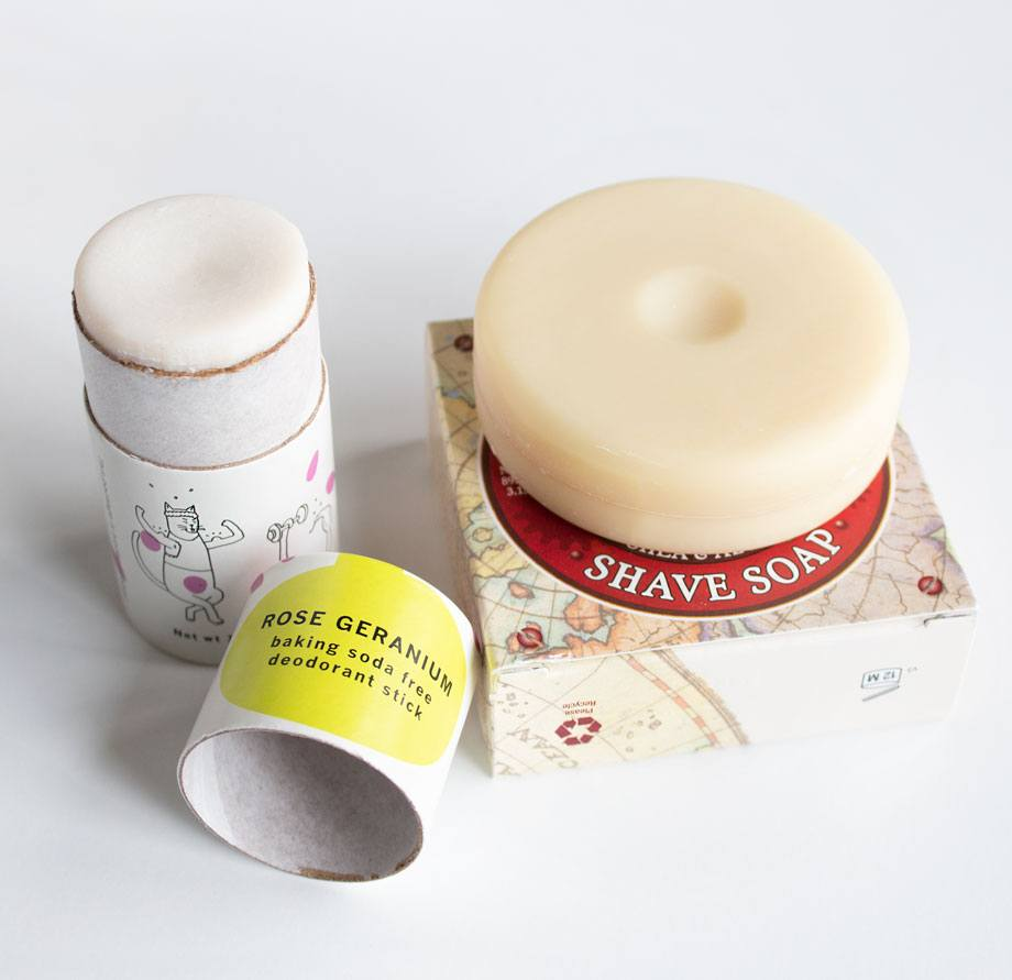 EarthHero Zero Waste Deodorant & Shave Soap