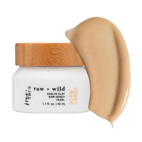 Free + True Raw + Wild Illuminating Honey Mask