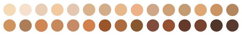 Ilia Super Serum Skin Tint SPF40 Swatches