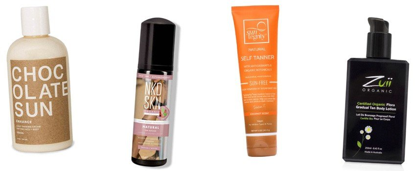 Natural Organic Sunless Self Tanning Products