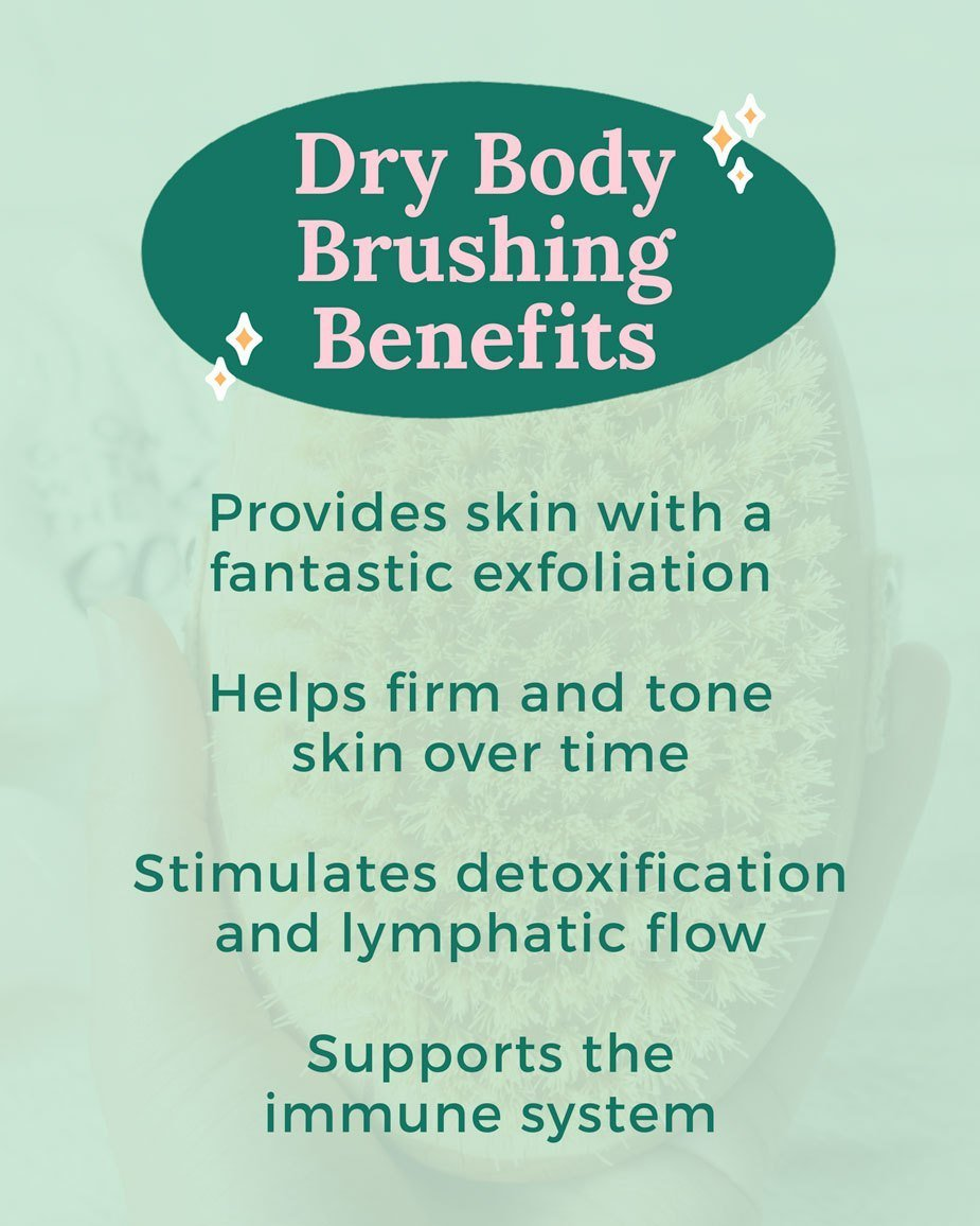 Benefits of Dry Body Brushing for Lymphatic Flow