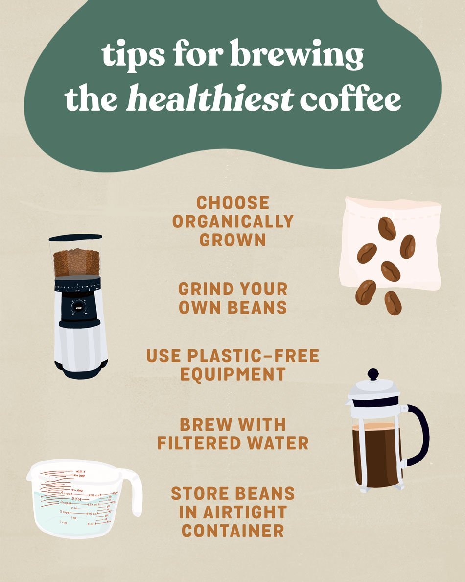 Tips for Brewing the Healthiest Coffee